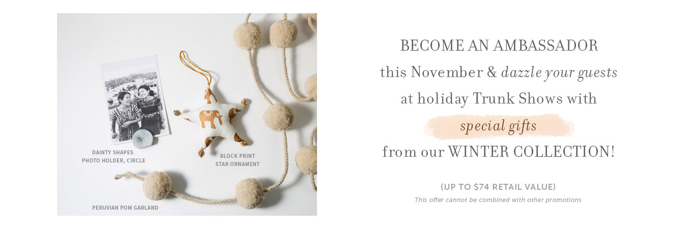 Join in November and get free jewelry
